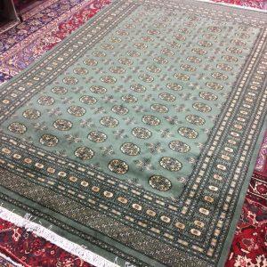Green Persian Bokhara 307 x 203 CM